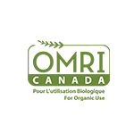 Canada OMRI Listed for Organic Use Certification